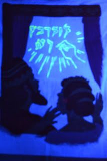 Bible Class Creations: Handwriting on the Wall Blacklight