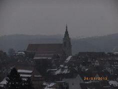 Wieder Schnee am 25.01.13