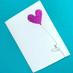 O meu balão eu vou te dar - glitter e purpurina - Tréguas - Cartões e Coisinhas - Yana Tassis