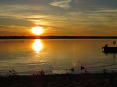 Sunset on Ivanhoe Lake - Ivanhoe Lake Provincial Park (August Ontario Provincial Parks, All About Canada, August 2014, Scenery, Celestial, Sunset, Amazing, Places, Outdoor