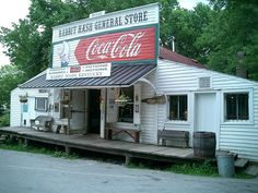 Rabbit Hash General Store across the river. Remember when the country store was the gathering place for the community?