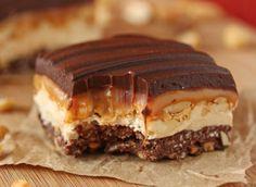 Hecho en casa crujiente caramelo Bares Receta | ¡Oh nueces Blog