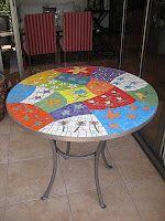 Mesa con mosaico