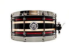 AJP - Maple/Metallic Black/ Metallic Red w/ black chrome h/w