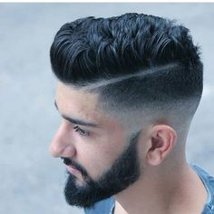 Check out ✔ and choose your hairstyle By: ✂ Mens Hairstyles With Beard, Cool Hairstyles For Men, Hair And Beard Styles, Haircuts For Men, Hair Styles, New Hair, Men's Hair, Hair Toupee, Hair 2018