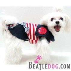 puppyzzang dog sailor dress