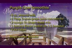 ViSalus Recipes | Vi-Shake Recipes | Body By Vi Recipes - Purple Cow