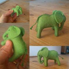 Green baby elephant-wool stuffed elephant-natural home decor-gift for boys-gift for children-toy for girls-natural gift for boys-eco toys Toys For Girls, Gifts For Girls, Kids Toys, Natural Toys, Waldorf Toys, Montessori Toys, Felt Toys, Felt Animals, Baby Elephant
