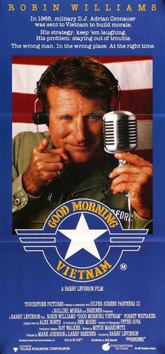 Good Morning, Vietnam (1987) Original Australian Movie Poster