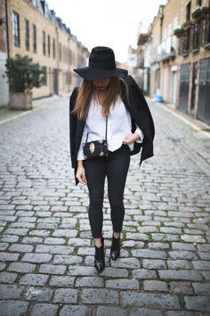 A Style Diary by Samantha Maria : NOIR SILHOUETTE