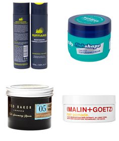 Men's Recommended Hair Styling Products - Long Hair