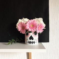 {Halloween} DIY du vase skulls!