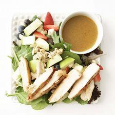 Grilled Market Salad & Zesty Dressing (Chick-Fil-A Copy Cat)