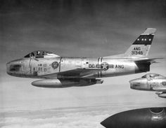 District of Columbia ANG, F-86H of 121st TFS, 1957
