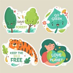 Keep the wild free and nature alive hand. Cartoon Expression, Free Planet, Doodles, Flat Design Illustration, Love The Earth, Green Technology, Wild And Free, Green Day, Earth Day