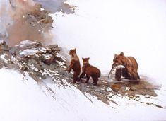 """""""Kodiak Bears"""" Artist: Morten Solberg"""