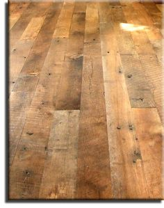 Antique Thresher Flooring - Our most vintage time worn floor available - made from reclaimed Oak barn boards by Appalachian Woods