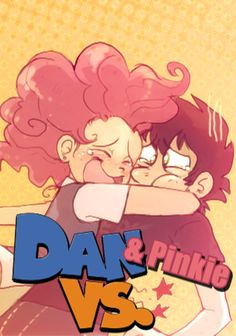 dan vs memes | Dan and Pinkie VS. Title Card by KingEmberWing