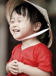 Asia. Smile for me!
