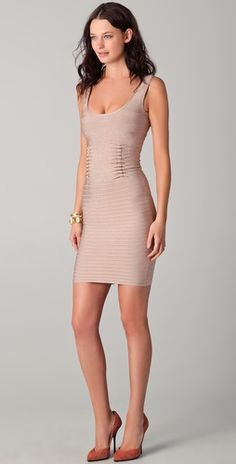 Herve Leger - one darn fine reason to tone that body (and win the lottery)