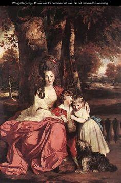 Lady Elizabeth Delme and her Children - Sir Joshua Reynolds