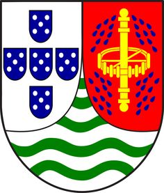 Lesser coat of arms of Portuguese Sao Tome and Principe