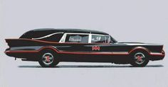 Is that Batman& hearse? Hot Wheels, Batman Batmobile, Flower Car, Us Cars, Custom Cars, Concept Cars, Cars And Motorcycles, Ambulance, Cool Cars