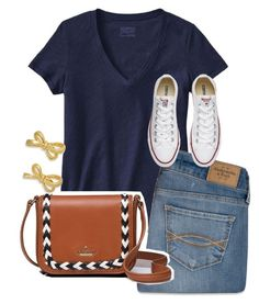 would DIE for this purse by parker3202 on Polyvore featuring Patagonia, Abercrombie & Fitch, Converse and Kate Spade