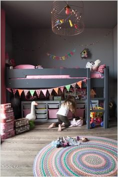 clever small kids rooms