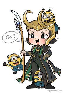 Loki & Minions || Cr: mermer03