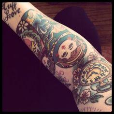 pocket watch. for me & ape's buddy tattoo