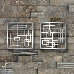 Metal Wall Art Art Decor Abstract Contemporary by ColdEdgeGallery, $256.00