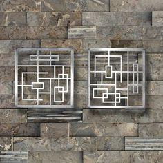 Metal Wall Art Art Decor Abstract Contemporary by ColdEdgeGallery Metal Art, Art Decor, Metal Wall Art, Metal Walls, Window Grill Design Modern, Modern Sculpture, Medical Office Decor, Metal Tree Wall Art, Office Wall Art