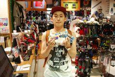 【大阪店】2014.06.10 韓国から観光でお越しくださいました^^NBA最高です!!また来てくださいね^^ #nba