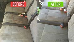 how to clean car seats the easy cheap way money saving pinterest clean car seats and. Black Bedroom Furniture Sets. Home Design Ideas