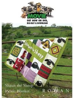Shaun the Sheep The Movie Picnic Blanket