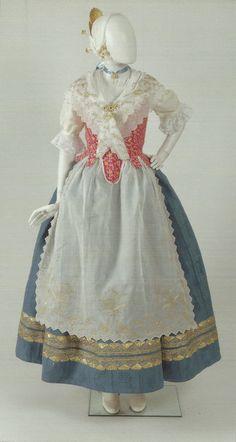 Traje valenciana s.XVIII
