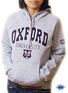Oxford University Hoodie | Grey | Size S, M ,L, XL | Women & Teenager size |London Souvenirs | Sweater | Sweatershirt: Amazon.co.uk: Clothing