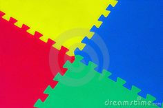 A primary colored abstract background