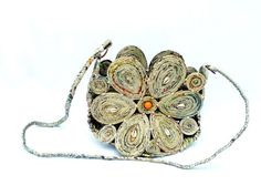 cute recycled paper purse