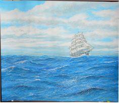 精密画「青海原風なびく2」[鹿村敦] | ART-Meter