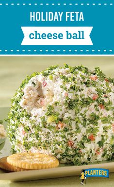 Holiday Feta Cheese Ball – Green onions and red peppers add festive color to this feta and cream cheese ball. While walnuts give it a tasty bit of crunch, this appetizer recipe is definitely one you'll want to serve at your next holiday party!