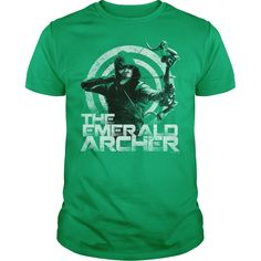 (Top Tshirt Design) Arrow Emerald Archer at Sunday Tshirt Hoodies, Funny Tee Shirts