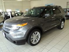 Love the shade of this new 2014 Ford Explorer for sale at Sioux Falls Ford!