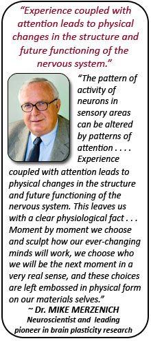 Neuroplasticity -Dr. Mike Merzenich