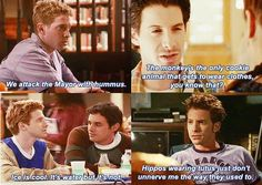Random thoughts by Oz (Buffy the Vampire Slayer)