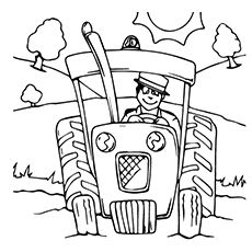 top 25 free printable tractor coloring pages online funny coloring and colors. Black Bedroom Furniture Sets. Home Design Ideas