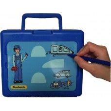 Doodlewiz Lunch Box - Mechanic made in Hampshire and supplied by Green Lighthouse Limited in #Devon - £16.99