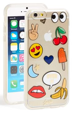 Free shipping and returns on Sonix 'Emoticon' iPhone 6 & 6s Case at Nordstrom.com. A mix of colorful emoticons provide a playful, irreverent twist on a glittery case designed to protect and display your iPhone.