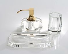 Soap dispenser - Bathroom - Accessories - Decoration - Lifestyle - Design - Pump brass chrome-plated